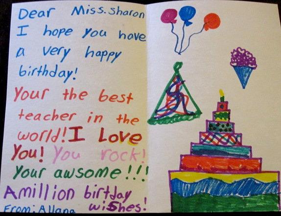 Happy Birthday Miss Sharon Run Dmt